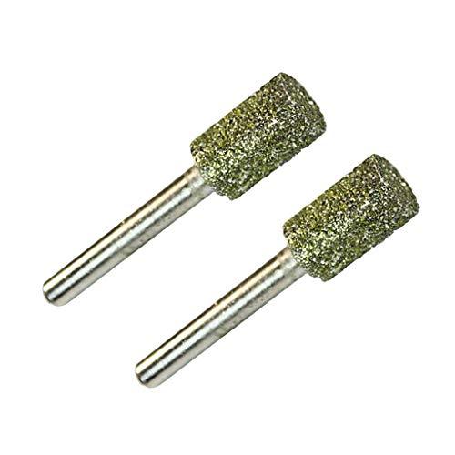 FLAMEER 2 Pezzi Seghe a Tazza da 6mm 8mm 10mm per Trapano a Secco Diamantate Professionali per Lavorazione dei Metalli, Creazione di Gioielli - 10mm