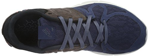 New Balance Herren Mlrush Low-Top Blau (Blue/Brown/White)
