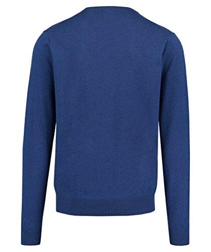 GANT Herren Pullover Cotton Wool Crew Bleu