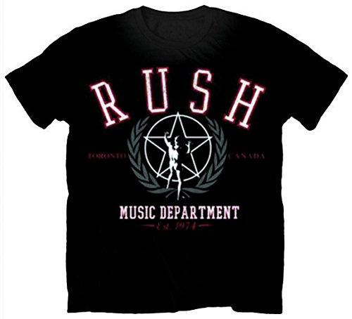 Collectors Mine Herren T-Shirt Rush-Dept Schwarz (Black)
