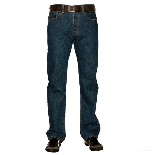 Levi's Herren Jeans 501 Original Fit Blau (MEDIUM BLUE)