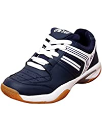 B-Tuf NAVY Badminton Shoes Unisex (Navy Blue/White)
