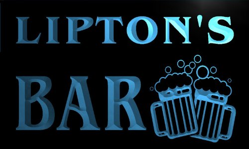 cartel-luminoso-w011607-b-lipton-name-home-bar-pub-beer-mugs-cheers-neon-light-sign