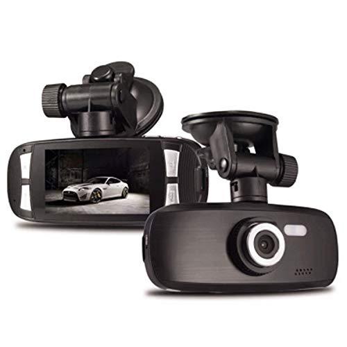 HEIFEN Black Dash Wide Dashcam - Dash 1080p Driving Recorder HD Nachtsichtauto-Minikamera-Auto-Black-Box 120 ° Weitwinkel versteckt - Einzelne Linse 2,7-Zoll-Bildschirm