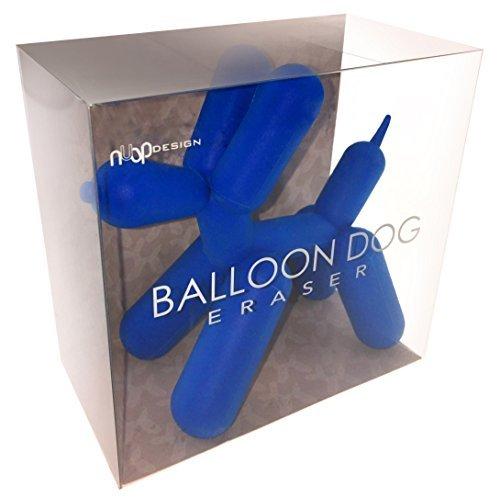 Blue Balloon Dog Eraser For the Pop Artist's Mistakes
