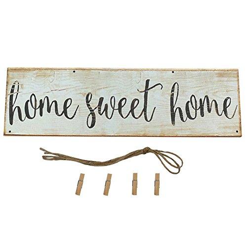 Homeofying Vintage Sweet Home Letra Impresa Madera