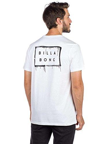 c44f83355 BILLABONG Herren Die Die Cut Theme Tee Ss T-Shirt Weiß (White 10)