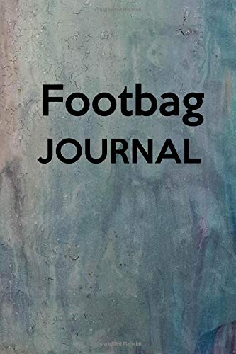 Footbag Journal: Keep track of your hackey sack matches - White Yellow Leg