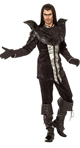 (Karneval-Klamotten Rabe Kostüm Herren Luxus Schwarze Vogel-Kostüm Tier-Kostüm Karneval Herren-Kostüm Größe 54)