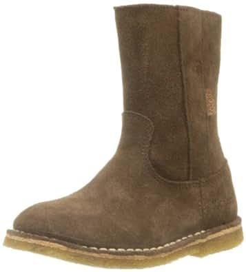 Kickers Girls COSYTIK Boots Brown Braun (MARRON 9) Size: 12 (30 EU)