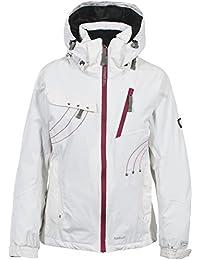 Trespass Floral - Chaqueta de esquí para mujer blanco blanco Talla:M