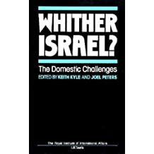 Whither Israel?: The Domestic Challenge