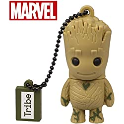 Avengers Guardiani della Galassia Chiavetta USB 32 GB Groot - Memoria Flash Drive 2.0 Originale Marvel, Tribe FD035702