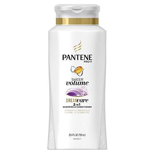 Pantene Shampooing et après-shampooing 2 en 1 Pro-V Flat to Volume - Système léger pour donner du corps aux cheveux toute la journée - 750 ml