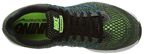 Nike Air Zoom Pegasus 32, Chaussures de Running Entrainement Femme Vert (Ghost Green/White-Black)
