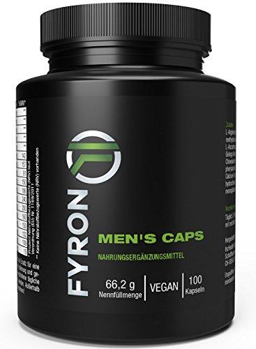 FYRON MENs = Sperma + Testosteron + Leistung für mehr Spaß - 100 Kapseln (Ginkgo Biloba-60 Kapseln)