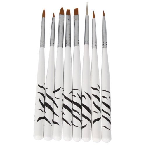 crazy-cart-8-pcs-nail-art-design-detailing-drawing-paint-painting-brushes-dotting-pen-set-kit-white