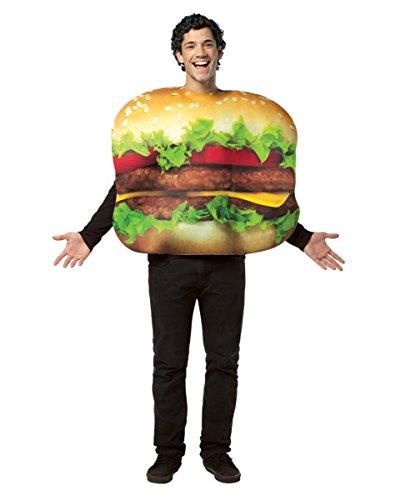 Cheeseburger Kostüm für Fasching & Halloween (Erwachsene Cheeseburger Kostüme)