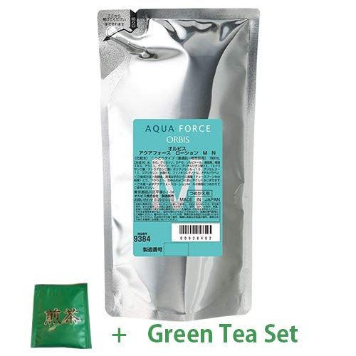 Orbis Aqua Force Series 2017 Skin Lotion Refill 180ml - Moist (Green Tea Set)