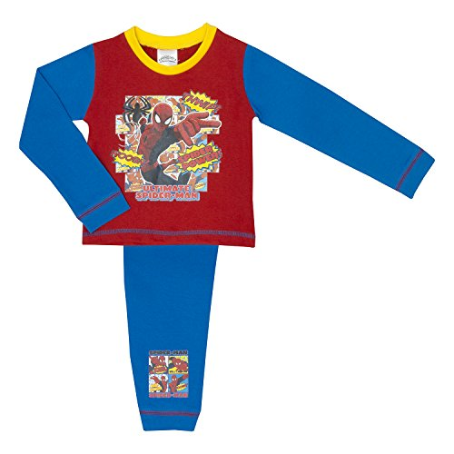 Marvel Ultimate Spider-Man Boys Pyjamas 18 Monate - Red 2-3 Years / up to 98 cm