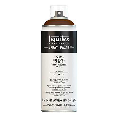 Liquitex Professional - Acrílico en spray, 400ml, tierra de sombra natural