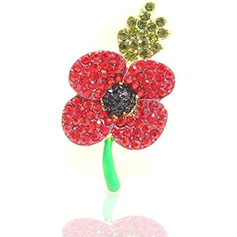 Yoursfs - Spilla da donna a forma di tulipano, giornata (Wedding Pearl Tema)