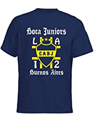 "Boca Juniors T-Shirt Ultras Fussball Buenos Aires ""M2-Navy"""