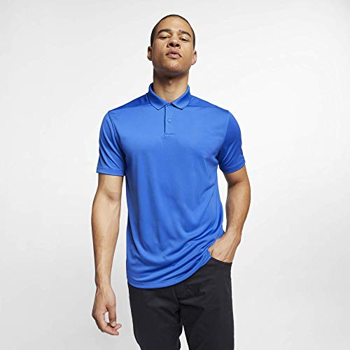 Nike Herren Dry Victory Poloshirt, Blau (Game Royal/Black), S (Golf Dri-fit Polo Nike)