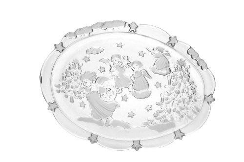 Walther Glas Weihnachts-Glasplatte