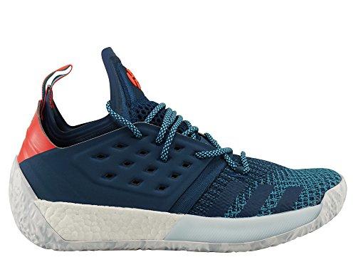 Adidas Herren 2 Superstar (adidas Herren Harden Vol. 2 Basketballschuhe, Grau (Raw Steel S18/Raw Grey S18/Grey One F17), 44 2/3 EU)