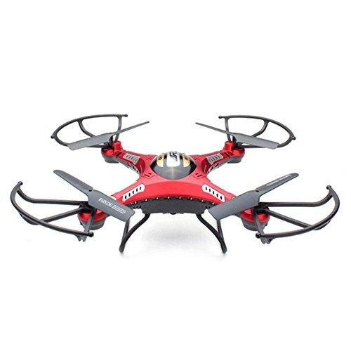 JJRC H8D RC Quadcopter Drone Helicóptero con Transmisor FPV Monitor de Tiempo real Transporte Vídeo Modo headless, 5,8 g de 2MP HD de cámara