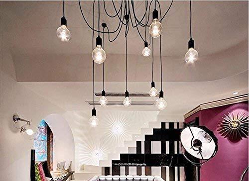 Lampop lampadario industriale sospeso vintage per soffitto forma di