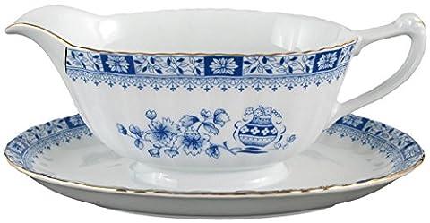 Seltmann Weiden sauce boat porcelain blue