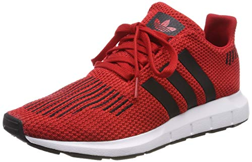adidas Unisex-Kinder Swift Run-j Gymnastikschuhe, Rot (Scarlet/Core Black/Ftwr White), 35.5 EU (3 UK) -