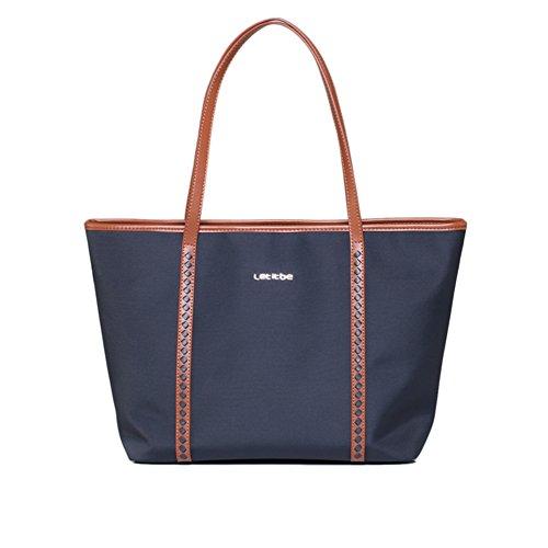 Borsa a tracolla singola/ladies borsa di tela/nylon oxford cloth tessuto borsa grande-C B