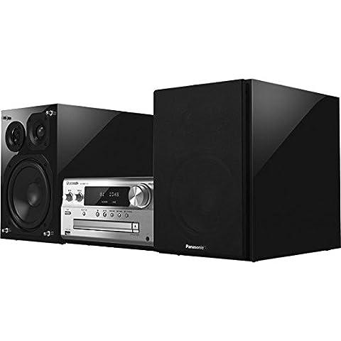 Panasonic SC-PMX100EGS-Microcadena, color negro