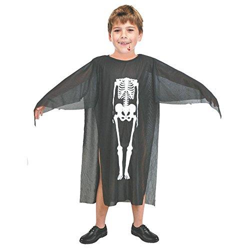 Zolimx Kinder Halloween Kostüm Junge Mädchen Zauberer Hexe Mantel Cape Robe Ghost Festival Performance Skull Kleidung Spiel Kleidung ()