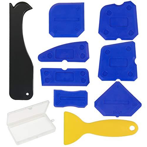 Kit aplicador silicona ZoomSky 9 piezas kit herramientas