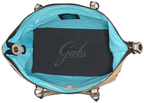 GABS G3-B M INFIES, Borsa a Mano Donna, 1x31x38 cm Marrone (Taupe)