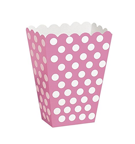 corn Treat Box (8pk) (Rosa Tupfen-luftballons)