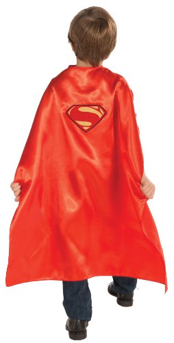Superman Cape Fancy Dress Man of Steel kids Costume One (Of Steel Man Cape Superman Kostüm)