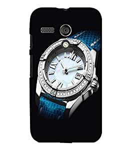 printtech Cool Watch Back Case Cover for Motorola Moto G X1032::Motorola Moto G (1st Gen)