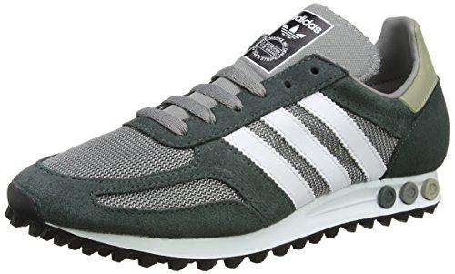 adidas Herren La Trainer Og Low Grau (Ch Solid Grey/ftwr White/utility Ivy)