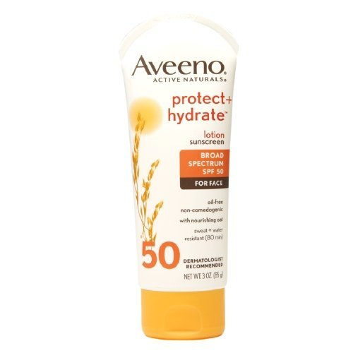 Aveeno Active Naturals Protect + Hydrate Sunscreen Lotion 3 Oz (Pack of 1)
