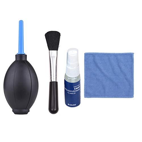 4 in 1 kit di pulizia di ricambio per camera lens computer portatile binocolo scopes panno di pulizia spazzola regard l