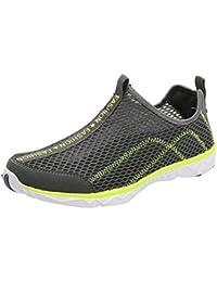 outlet store dca00 e6bff Scarpe da Corsa Uomo Senza Lacci Scarpe da Escursionismo Estive Ad  Asciugatura Rapida per Uomo Walk