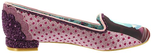 Alice In Wonderland Ballerinas HERE'S A RIDDLE 4329-17A Pink (Pink)