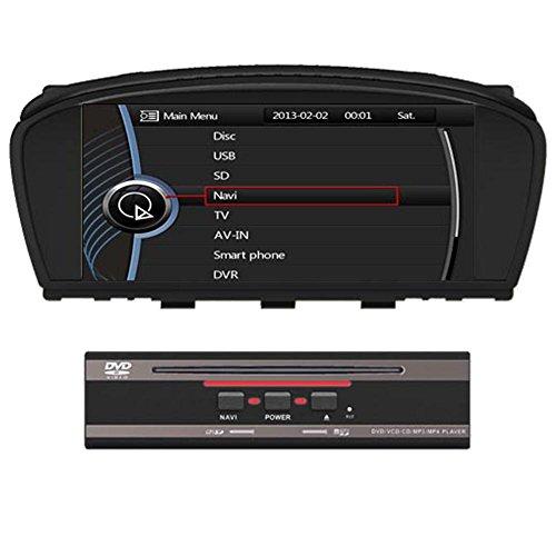 Generic 21,59 cm 1024 x 600 per BMW 5 Serise E60 E61 E63 E64 2003 2004 2005 2006 2007 2008 2009 2010 Autoradio DVD Navigatore GPS radio touch screen CAN BUS di sistema Bluetooth iPod RDS rubrica amplificatore auto e pulsante di controllo radio supporto TV originale sensor Marker ostacolo di