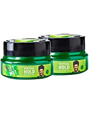Set Wet Vertical Hold Hair Styling Gel for Men, 250 ml (Pack of 2)