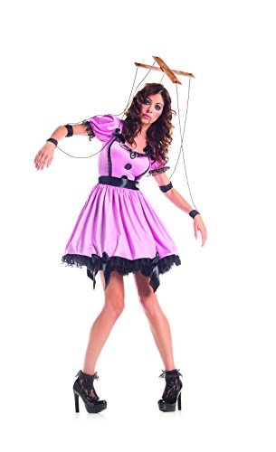 Adult Pink Marionette Fancy dress costume X-Large